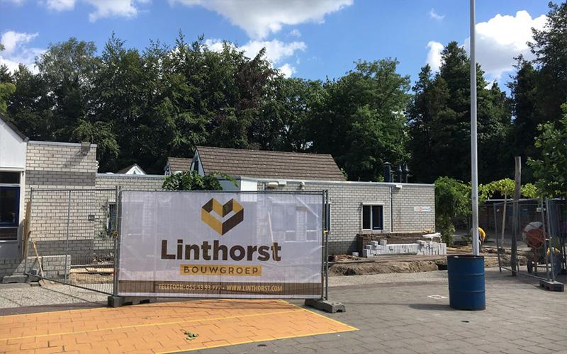 Linthorst Bouwgroep | Verbouw de Parkenschool | Apeldoorn