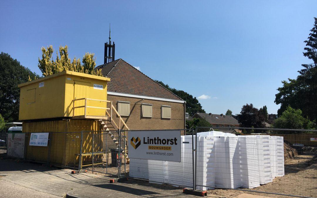 Transformatie van een kerkgebouw naar zorgappartementen
