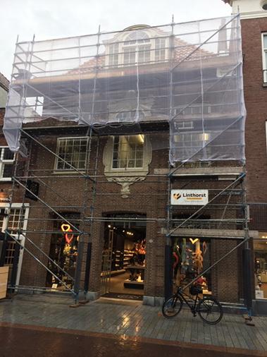 Linthorst Bouwgroep | Herstel kapconstructie | Centrum Den Bosch