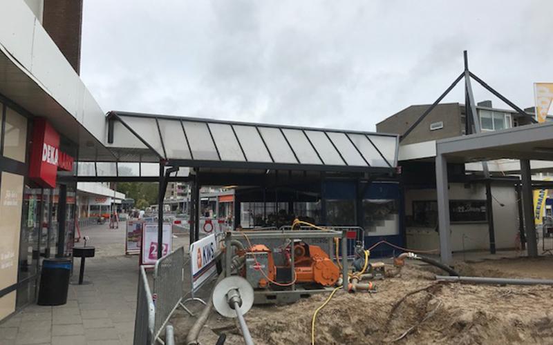 Linthorst Bouwgroep | Renovatie luifels winkelcentrum Mercatorplein | Apeldoorn