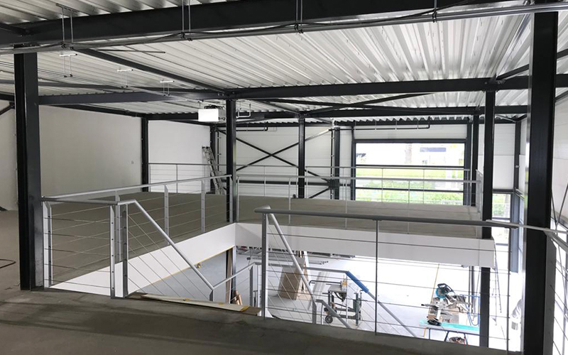 Linthorst Bouwgroep | Nieuwbouw twee bedrijfshallen | Twello