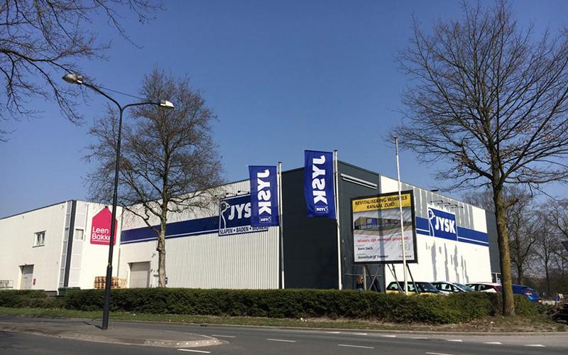Linthorst Bouwgroep | Renovatie winkelpanden Kanaal-Zuid | Apeldoorn