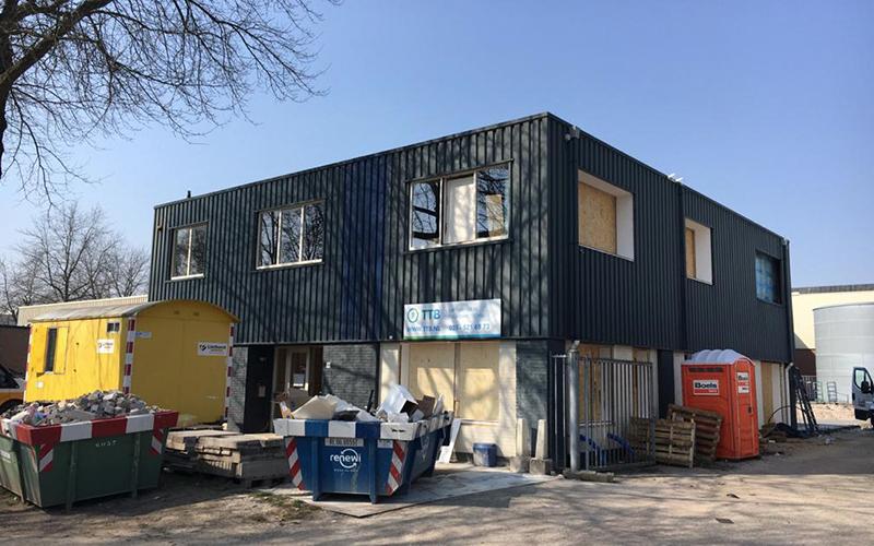 Linthorst Bouwgroep | Uitbreiding en verbouw bedrijfspand | Apeldoorn